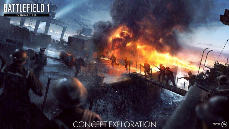 Dlc 3 Battlefield 1 I Turning Tides Ps4