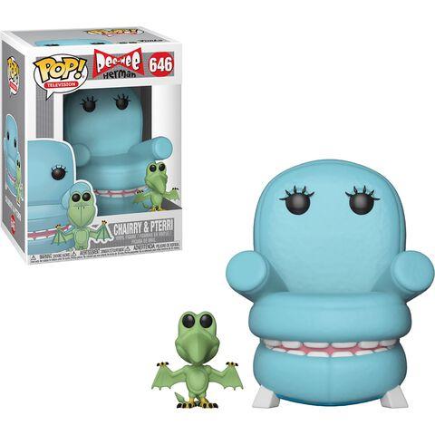 Figurine Funko Pop! N°646 - Pee-wee's Playhouse - Chairry Avec Pterri