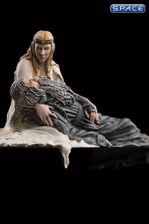 Statuette Weta Collectibles - Le Hobbit - Galadriel & Gandalf 1/30