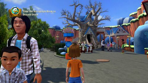 Kinect Disneyland Adventures (kinect)