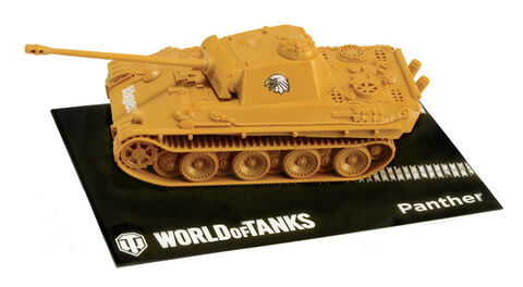 Maquette - World Of Tanks - 1:72 Easy To Build Pzkpfw. V Panther