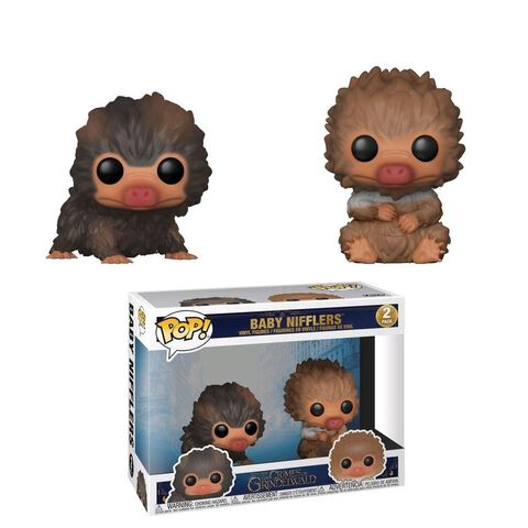 Figurine Toy Pop - Les Animaux Fantastiques 2 - Twin Pack - Baby Nifflers