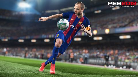 * Pro Evolution Soccer 2018