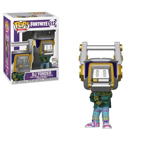 Figurine Funko Pop! N°512 - Fortnite - DJ Yonder