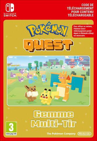 Pokémon Quest - DLC : Gemme Multi-tir - Version digitale