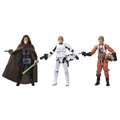 Figurine - Star Wars - Pack 3 Figurines Luke Skywalker 95cm