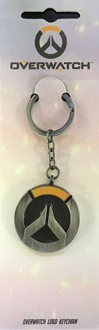 Porte-clés - Overwatch - Logo en métal