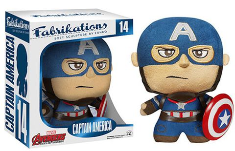Figurine Toy Pop Fabrikations Captain America (peluche)