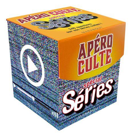 Mini-boite apéro Culte - Spécial séries