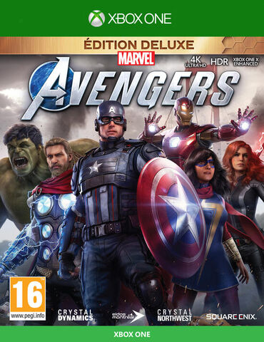 Marvel's Avengers Deluxe Edition - Versions Xbox Series et