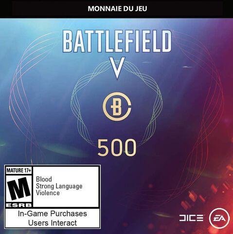 Battlefield V - DLC - 500 Battlefield Points - Version digitale