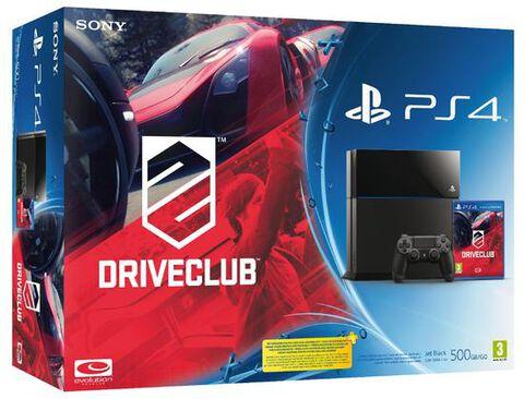 Pack PS4 Noire + DriveClub