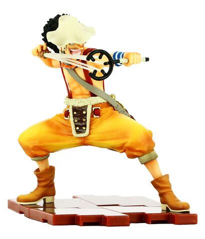 Figurine Tamashii Nations - One Piece - Zero King Sniper Ero King Of Snipers Uso