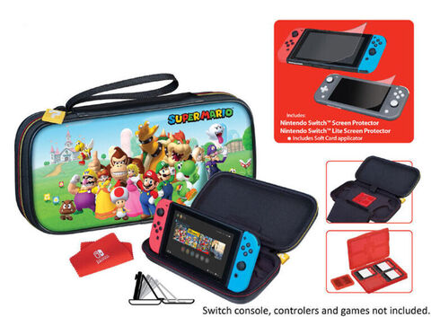 Pochette Officielle Mario Team A Switch / Switch Lite