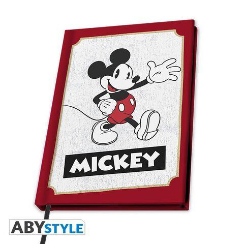 Cahier A5 - Mickey - Carnet Mickey