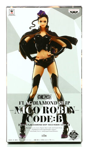 Figurine Flag Diamond Ship - One Piece - Nico Robin Code B