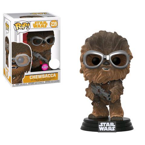 Figurine Funko Pop! N°239 - Star Wars Solo - Chewbacca floqué avec lunettes