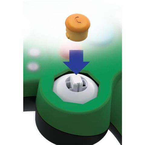 Manette Filaire Fight Pad Pro Luigi Licence Nintendo