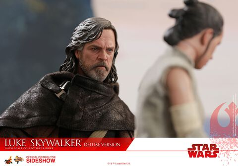 Figurine Hot Toys - Star Wars Episode VIII - Luke Skywalker Deluxe Version 1/6