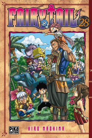 Manga - Fairy Tail - Tome 28