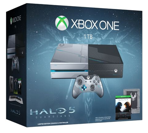 Pack Xbox One 1 To + Halo 5 Guardians