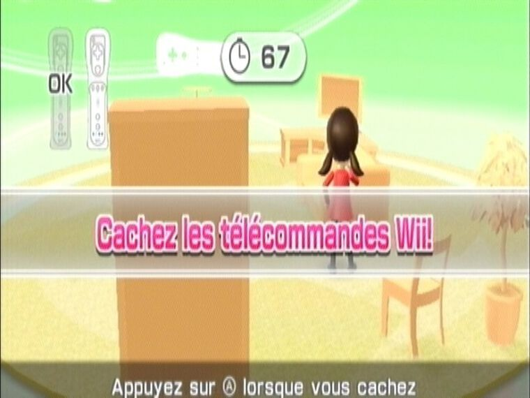 Wii Party + Télécommande Blanche