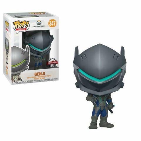 Figurine Funko Pop! N°347 - Overwatch - Genji en fibre de carbone