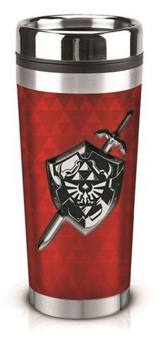 Mug de Voyage - Zelda - Triforce et bouclier