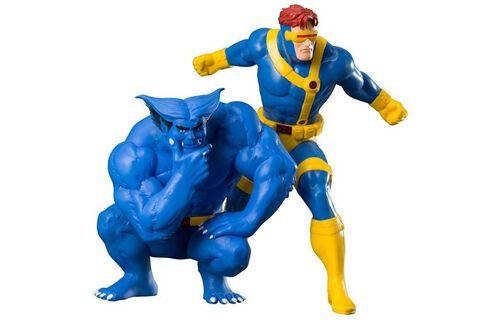Statuette Kotobukiya - Marvel Universe - Twin Pack Cyclops
