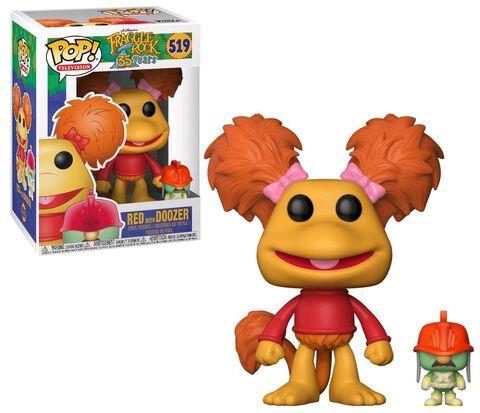 Figurine Funko Pop! N°519 - Fraggle Rock - Red avec Doozer