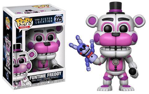 Figurine Funko Pop! N°225 - Five Night at Freddy's - Funtime Freddy (c)