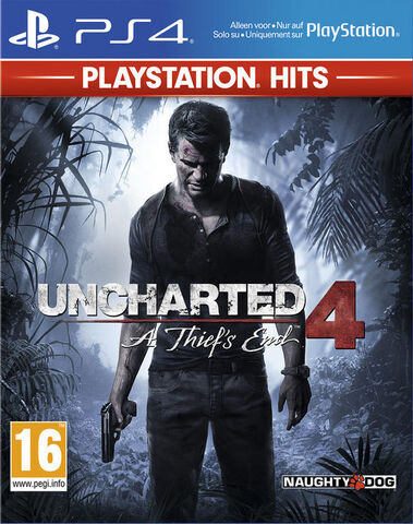 Uncharted 4 Thief's End Hits