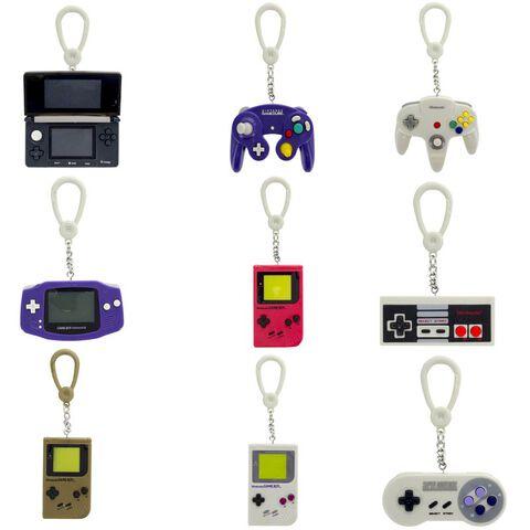 Porte-clés - Nintendo - Consoles 3D