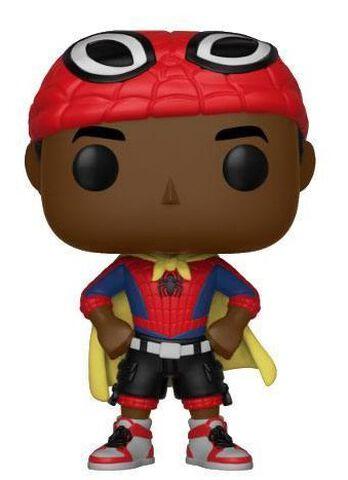 Figurine Funko Pop! N°403 - Spider-Man - Miles avec cape