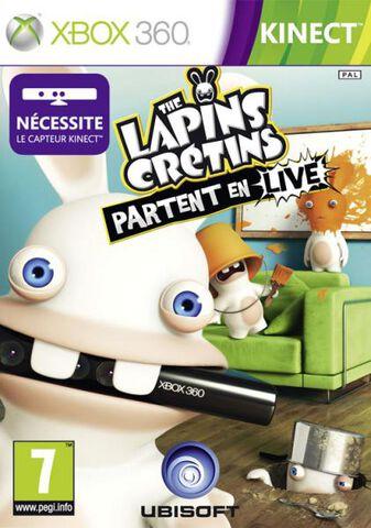 The Lapins Cretins Partent En Live (kinect)