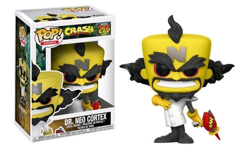 Figurine Funko Pop! N°276 - Crash Bandicoot - Neo Cortex