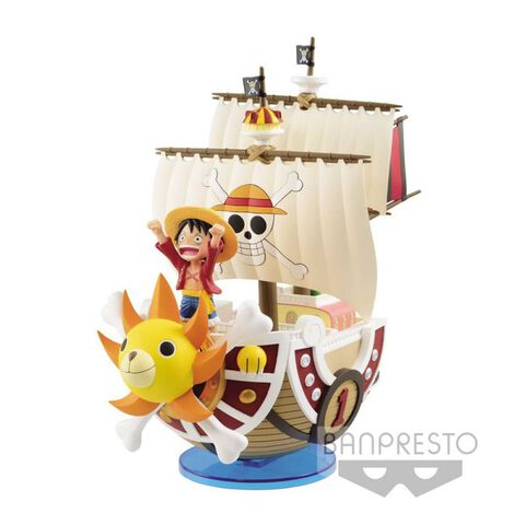 Statuette Mega World Collectable - One Piece - Thousand Sunny 19 cm