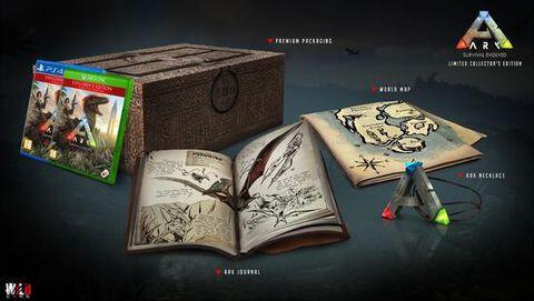 Ark Survival Evolved Collector Edition Sur Ps4 Tous Les