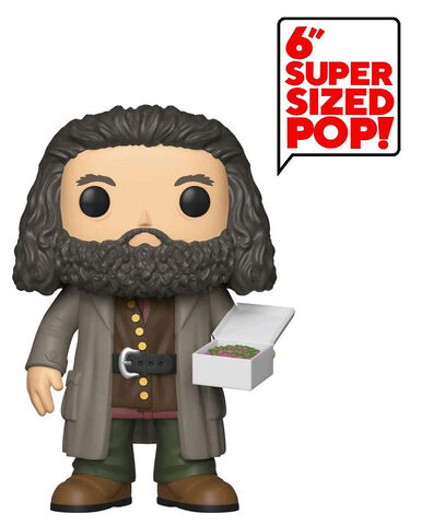 Figurine Funko Pop! N°78 - Harry Potter - Série 5 Hagrid avec gâteau - 15 cm