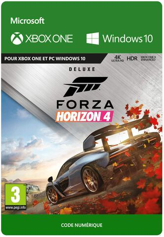 Forza Horizon 4: Deluxe Edition - Jeu complet - Version digitale