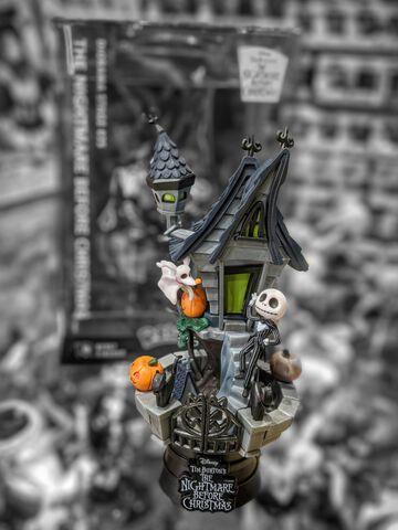 Figurine D-stage - L'Étrange Noël de Monsieur Jack - Jack Zero et Maison - 15 cm