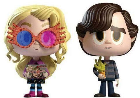 Figurine Vynl - Harry Potter - Twin Pack Luna et Neville