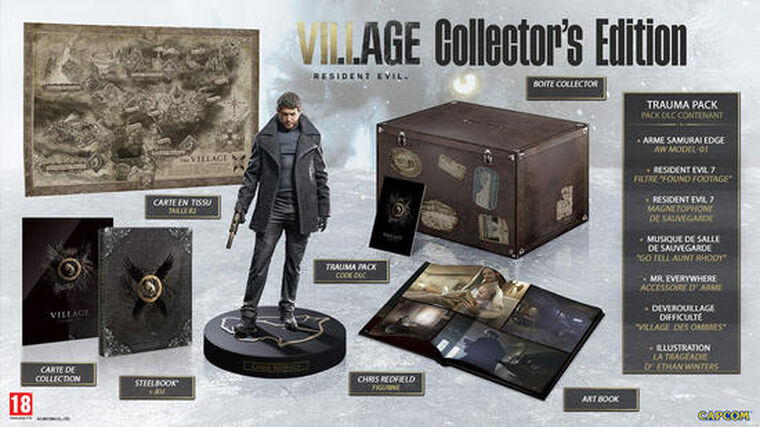 Resident Evil Village Collector Edition