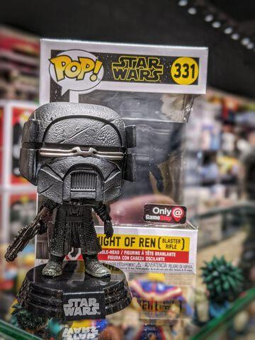 Figurine Funko Pop! N°331 - Star Wars 9 - Chevalier de Ren (exclusivité Micromania)