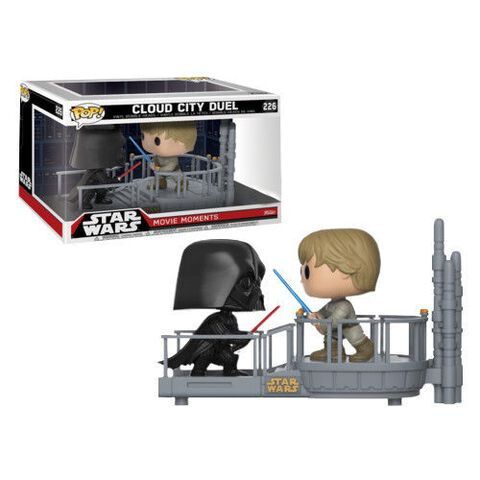 Figurine Funko Pop! Moment N°226 - Star Wars - Dark Vador & Luke Twin Pack Ltd