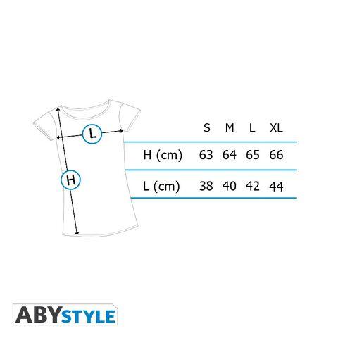 T-shirt Femme - Harry Potter - Poudlard - Blanc - Taille M