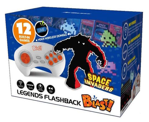 Blast Family Taito Space Invaders Flashback 12 Jeux