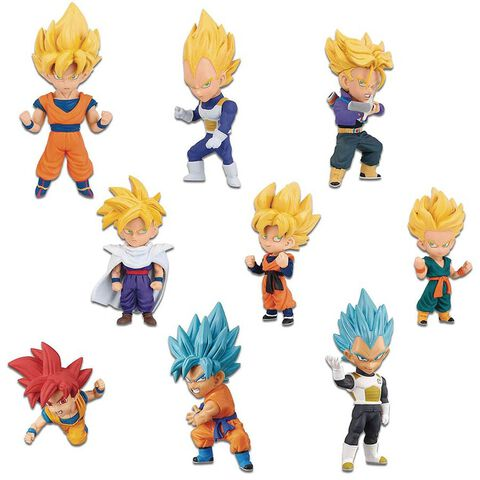 Figurine World Collectable - Dragon Ball Super - Saiyan Spécial