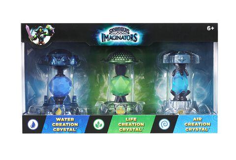 Skylanders Imaginators - Triple Pack Cristaux Eau/Vie/Air
