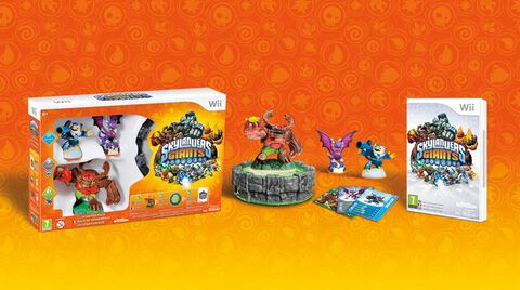 Skylanders : Giants Pack Démarrage